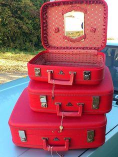 #suitcases #vintageluggage