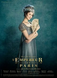 L'Empereur de Paris is coming soon! I'll share more with you all over the next month… Paris Film, Paris Movie, Period Drama Movies, Period Dramas, Olga Kurylenko, Movies Showing, Movies And Tv Shows, Movies To Watch, Good Movies