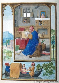 Medieval Manuscript Images, Pierpont Morgan Library, Da Costa hours (MS M.399). MS M.399 fol.119v