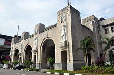 train station in Singapore - took the train from Singapore to Kuala Lumpur, Malaysia