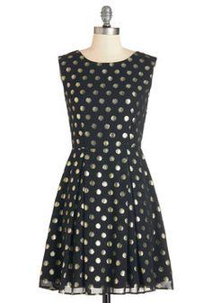 Dinner Party Hostess Dress. #black #modcloth