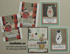 June Card-making and Scrapbooking (with Jack)!