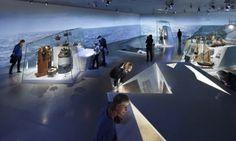 BIG, Bjarke Ingels, Danish Maritime Museum, dry dock, Denmark, sunken museum, sunken architecture, Kronborg Castle, maritime museum