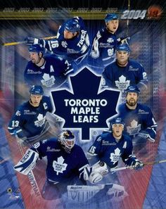 8b7e0d120f0 2003-2004 Toronto Maple Leafs - how things have changed . . . Hockey Teams