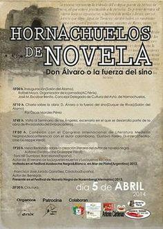 HORNACHUELOS: HORNACHUELOS DE NOVELA 5 DE ABRIL 2014