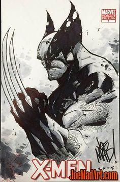 X-Men-1-Curse-of-the-Mutants-Wolverine-madureira-sketch.jpg (421×640)