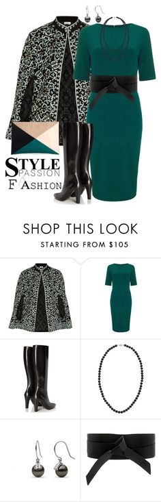"""""""Style. Passion. Fashion."""" by curvygirlamy ❤ liked on Polyvore featuring Talitha, Phase Eight, Yves Saint Laurent, IRO and Sole Society"""