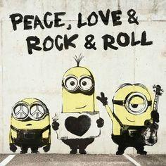 Peace, love, & rock & roll!