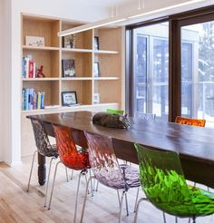 dining room design and decor ideas, modern tables and chairs