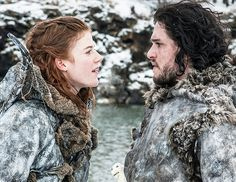 """@Byrdie Beauty - The """"You Know Nothing Jon Snow"""" Braid We like to believe that Ygritte's perfectly braided locks made this moment especially impactful for Jon Snow."""