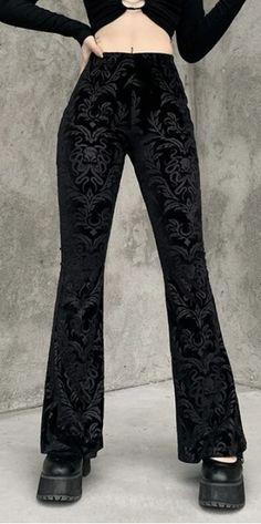 Slacks Pants, Trousers, Type Of Pants, Fabric Names, Flare Pants, Velvet, Dark, Cotton, Collection