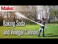 Baking Soda and Vinegar Cannon