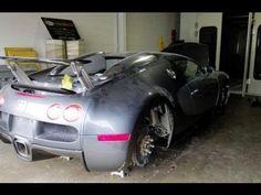 Top10Linch - Dubai abandoned cars Ferrari, Lamborghini, Mustang..