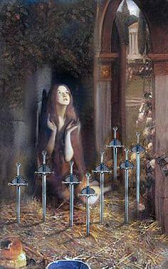 8 of Swords, Infinite Visions Tarot True Tarot, The Art Of Listening, The Doors Of Perception, Oracle Tarot, Cartomancy, Tarot Card Decks, Angel Cards, Tarot Readers, Art Images