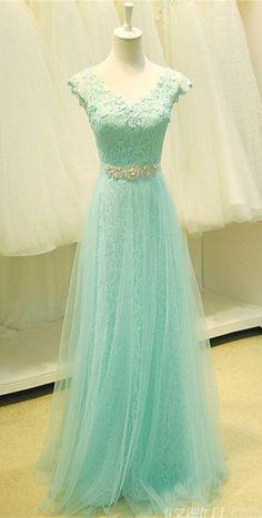 Lace Prom Dress Evening Dresses Formal Dress For Teens BPD0019