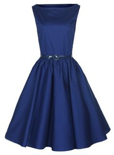 Lindy Bop Classy Vintage Audrey Hepburn Style 1950s Rockabilly Swing Evening Dress [ Buy New: £29.99 ] #UK #Ireland