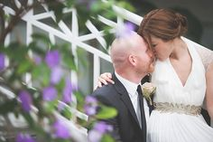 Intimate Garden Wedding Featured On Midwest Bride Photos By Seth and Beth