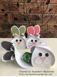 Curvy Keepsake Bunny Boxes - curvy-keepsake-easter-bunny-c - - - Curvy Keepsake Bunny Boxes – curvy-keepsake-easter-bunny-c – Crafts – Boxes & Bags ( Sm. Decorative ) Curvy Keepsake Bunny Boxes – curvy-keepsake-easter-bunny-c – Preschool Crafts, Easter Crafts, Holiday Crafts, Crafts For Kids, Easter Gifts For Kids, Fun Crafts, Cardboard Box Crafts, Easy Paper Crafts, Keepsake Boxes
