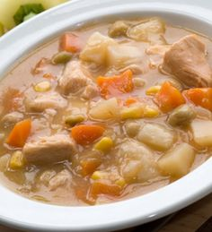 Healthy Chicken and Vegetable Stew Recipe