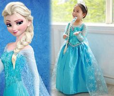Inspired Frozen Dress Up Frozen Costumes Queen by ElsaAnnaDress