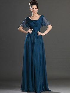 Robinta - Bodenlang Empire  Brautmutterkleider - EUR 117,61€