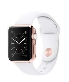 Get these colors but from Target not Apple rose gold and white small