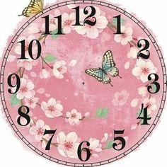 Циферблаты для декупажа часов. | 225 фотографий | ВКонтакте