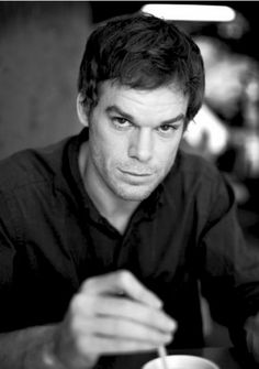 "Michael C Hall....DEXTER!!!  He just seems too cute to be playing the role of a ""serial killer""....but he does do a good job of it!  And...after all....he only kills the ""bad guys""...lol."