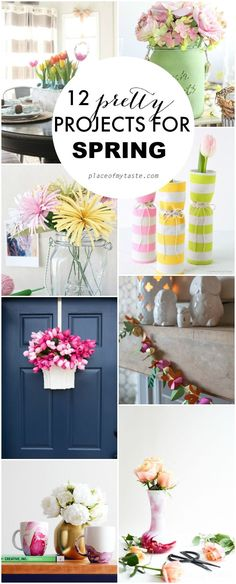 I love all these fantastic spring projects!