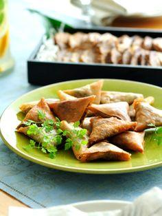 パリパリとした春巻きの皮とスパイシーな合い挽き肉が止まらないおいしさ|『ELLE a table』はおしゃれで簡単なレシピが満載!