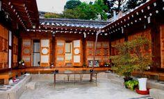 Hanok in Bukchon Seoul, Korea.