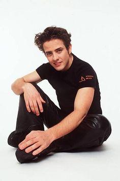Joey McIntyre leather pants