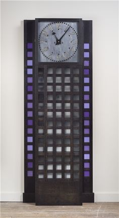 C. R. Mackintosh Tall-Clock by Kevin Rodel Furniture & Design Studio.