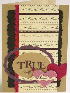 True Love Wedding Card