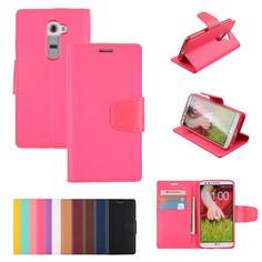 LG G2 Case Goospery Sonata Diary Stand Wallet Material: PU Synthetic Leather This item is not fits Lg G2 Verizon vs980 Compatibility: LG G2 2 Card Pocket Plus Paper Bill Slot with magnetic closure. Specially molded inner TPU lining to keep your phone well protected with a tight fit. Made in South Korea
