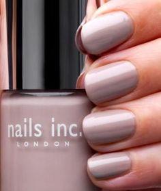 """A gorgeous cool lavender: Nails Inc. London """"Porchester Square"""""""