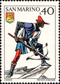 - Archery on Stamps - Stamp Community Forum - Page 8 Postage Stamp Art, Crossbow, Stamp Collecting, Archery, Poster, Europe, Military Uniforms, Community, Club