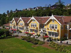 Solstand Hotel in Os - near Bergen.