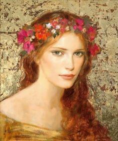 Goyo Dominguez | British Romantic Realist Painter | 1960