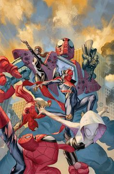 Web Warriors #8 by Julian Totino Tedesco *