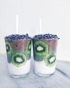 Açaí, blue-algae, coconut layered smoothies and the last few days of August! In case you missed it over the weekend, the #smoothiequeen enamel pins are now up on the #WuHaus shop! Link in profile.