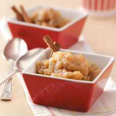 Chunky Applesauce Recipe from Taste of Home -- shared by Deborah Amrine of Grand Haven, Michigan
