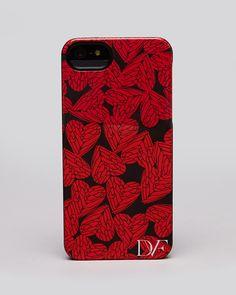 DIANE von FURSTENBERG iPhone 5 Case - Free Hearts | Bloomingdale's 5s Cases, Phone Cases, Iphone 5, Diane Von Furstenberg, Tech Accessories, Free, My Style, Handbags