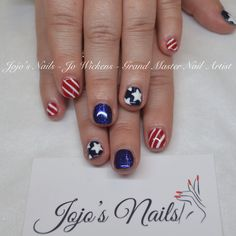 CND Shellac manicure with Rockstar accent nails and hand painted nail art - By Jo Wickens @ Jojo's Nails - www.jojosnails.com