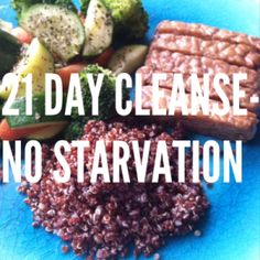 No starvation, eat clean foods for 21 days and lose weight! Fast  Easy!