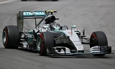 Nico Rosberg was told to back off his pursuit of Mercedes team-mate Lewis Hamilton in Montreal.