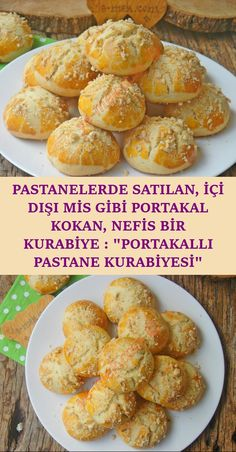 A Delicious Cookie Sold at Patisseries, Smells Like Orange Inside and Outside: Orange Pastry Cookies - Kekse Turkish Recipes, Italian Recipes, Orange Chiffon Cake, Turkish Kitchen, Cooking Gadgets, Turkish Sweets, Yummy Cookies, Fish And Meat, Fresh Fruits And Vegetables