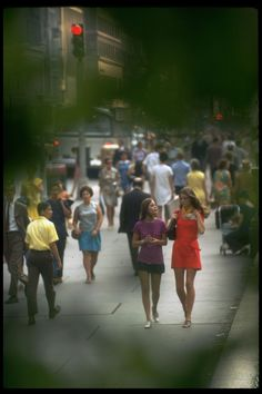 31 Photos Of New York City In The Summer Of '69 Was the photographer trying to go for a creep shot? Image by Vernon Merritt III/Time Life Pictures/Getty Images