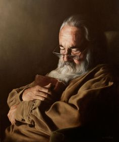 """""""Rest"""" by James Van Fossan (Oil Painting)"""