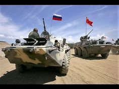China and Russia joint military exercises ready for world war III